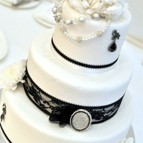 Black & White by MARKED Edible Designs
