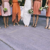 Bridal party by Paradoxa Wedding Photography