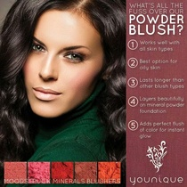 Younique Minerals Powder Blush by Younique Products by Mishi
